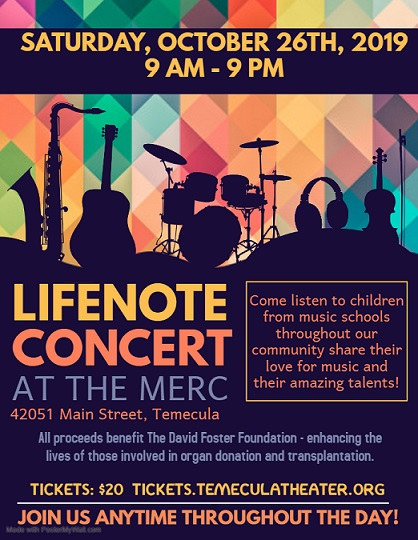 LIFENOTE CHARITY CONCERT